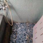 リフォーム前浴室床